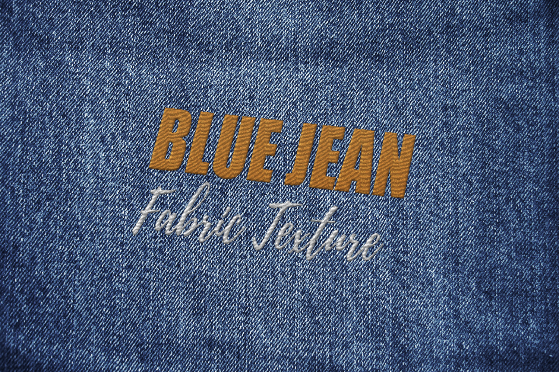 15 Denim Jean Fabric Textures JPG example image 3