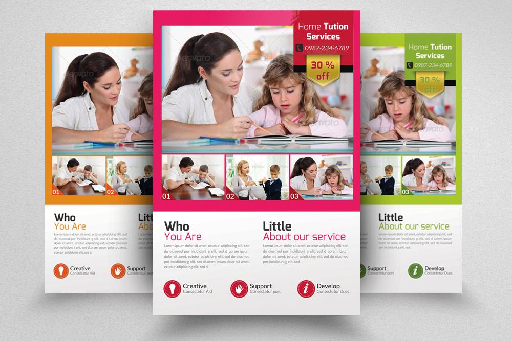6 Kids School Education Flyers Bundle example image 7