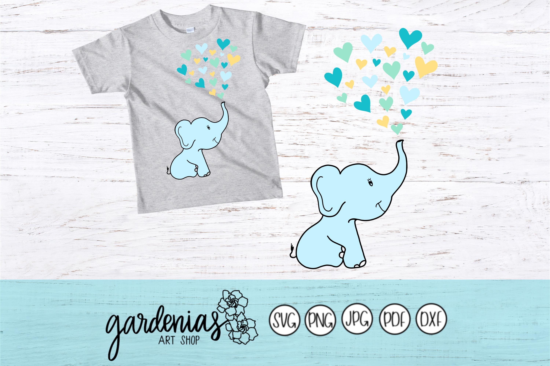 Baby Elephant Hearts example image 2