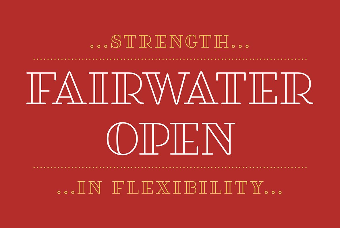 Fairwater Solid Serif example image 5