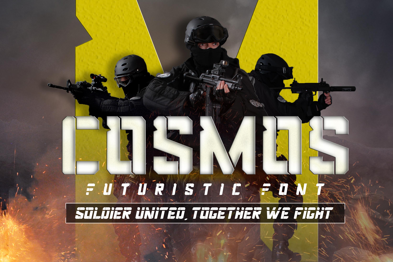 Cosmos Futuristic Font example image 1