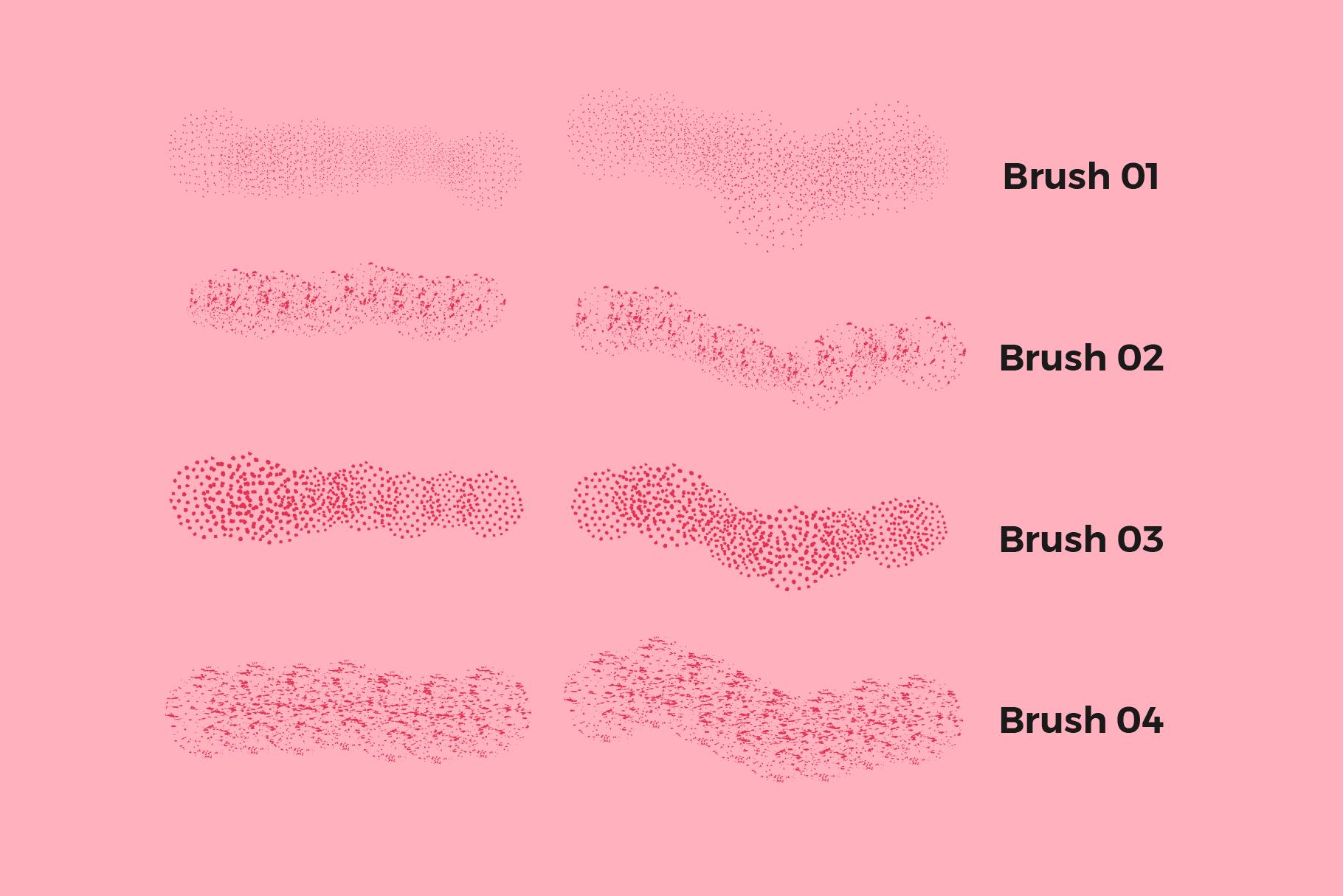 Scatter Brushes for Illustrator example image 2