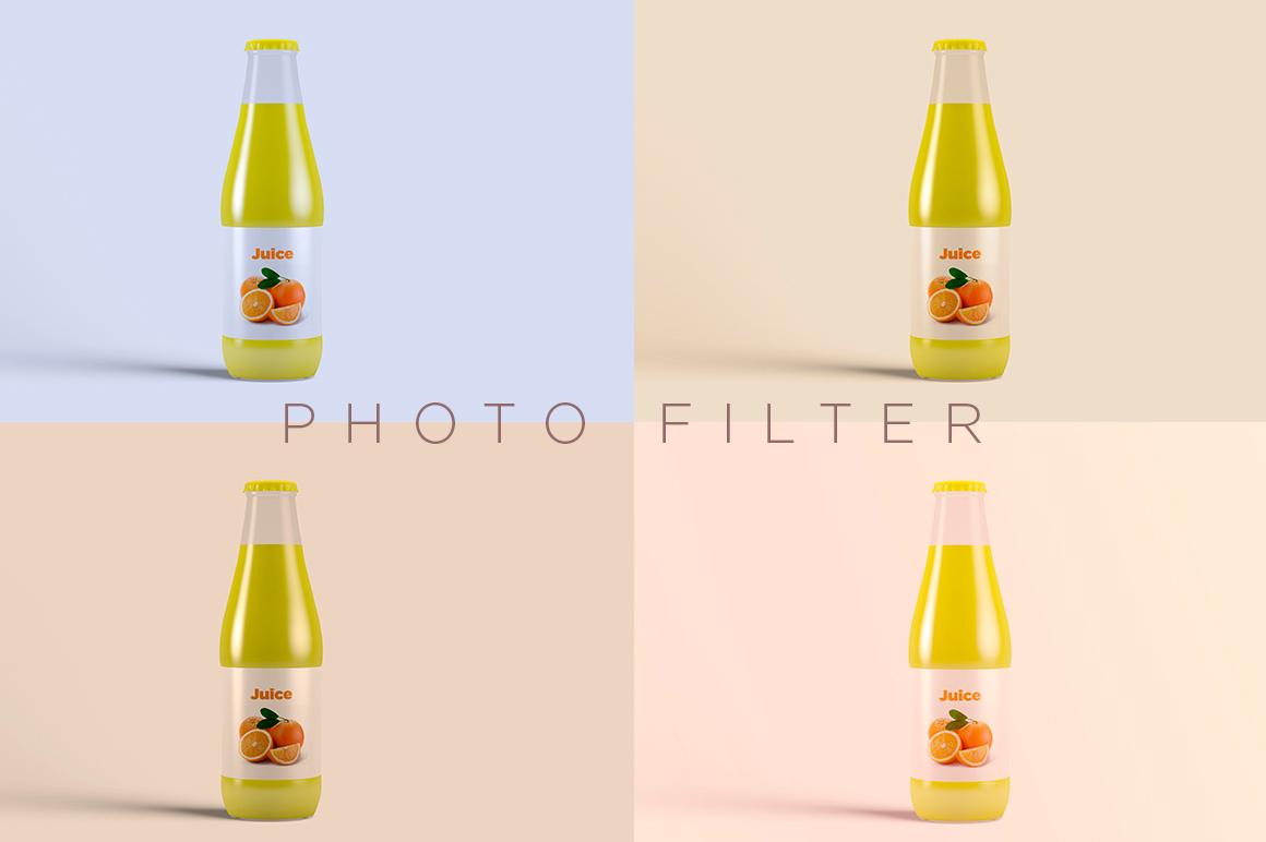 Juice Bottle Mock-Up example image 14