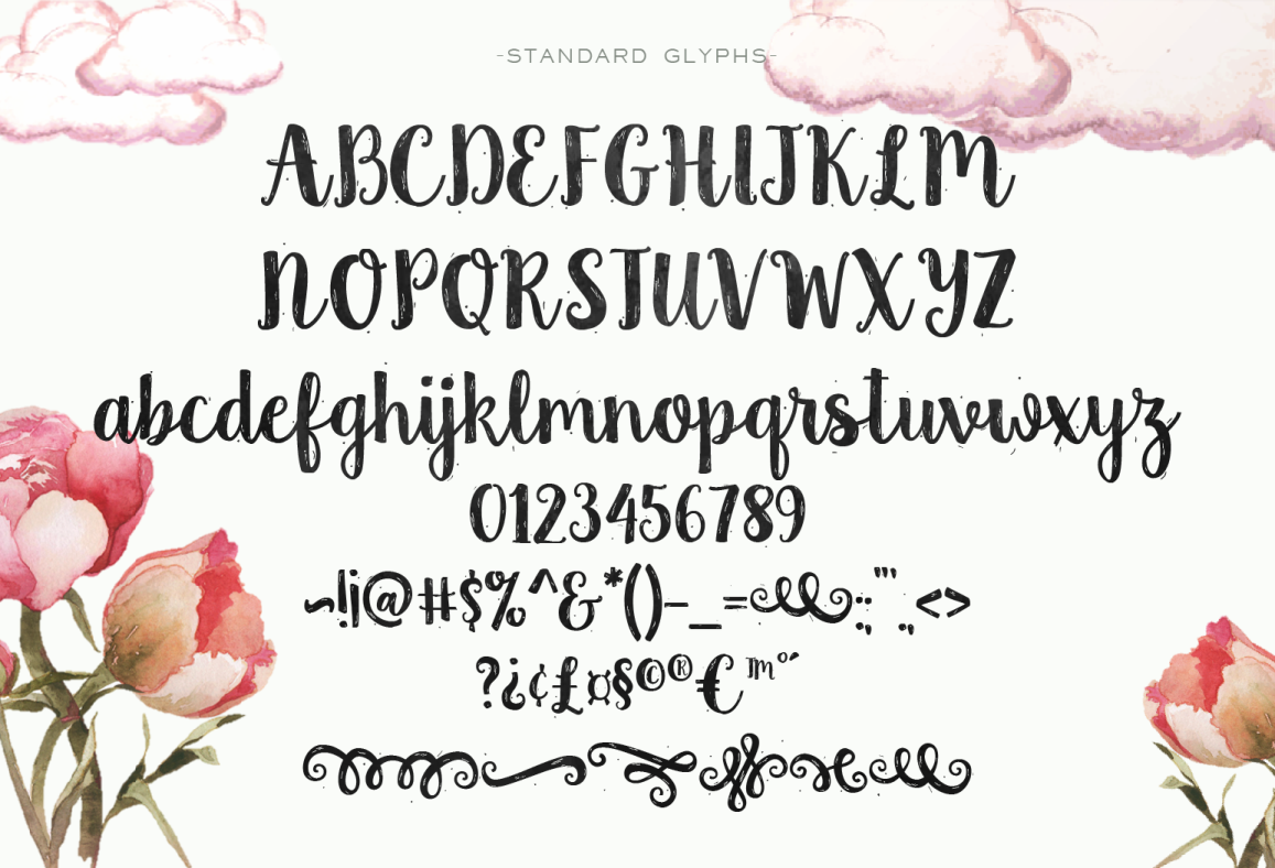 Country Chic Script example image 2