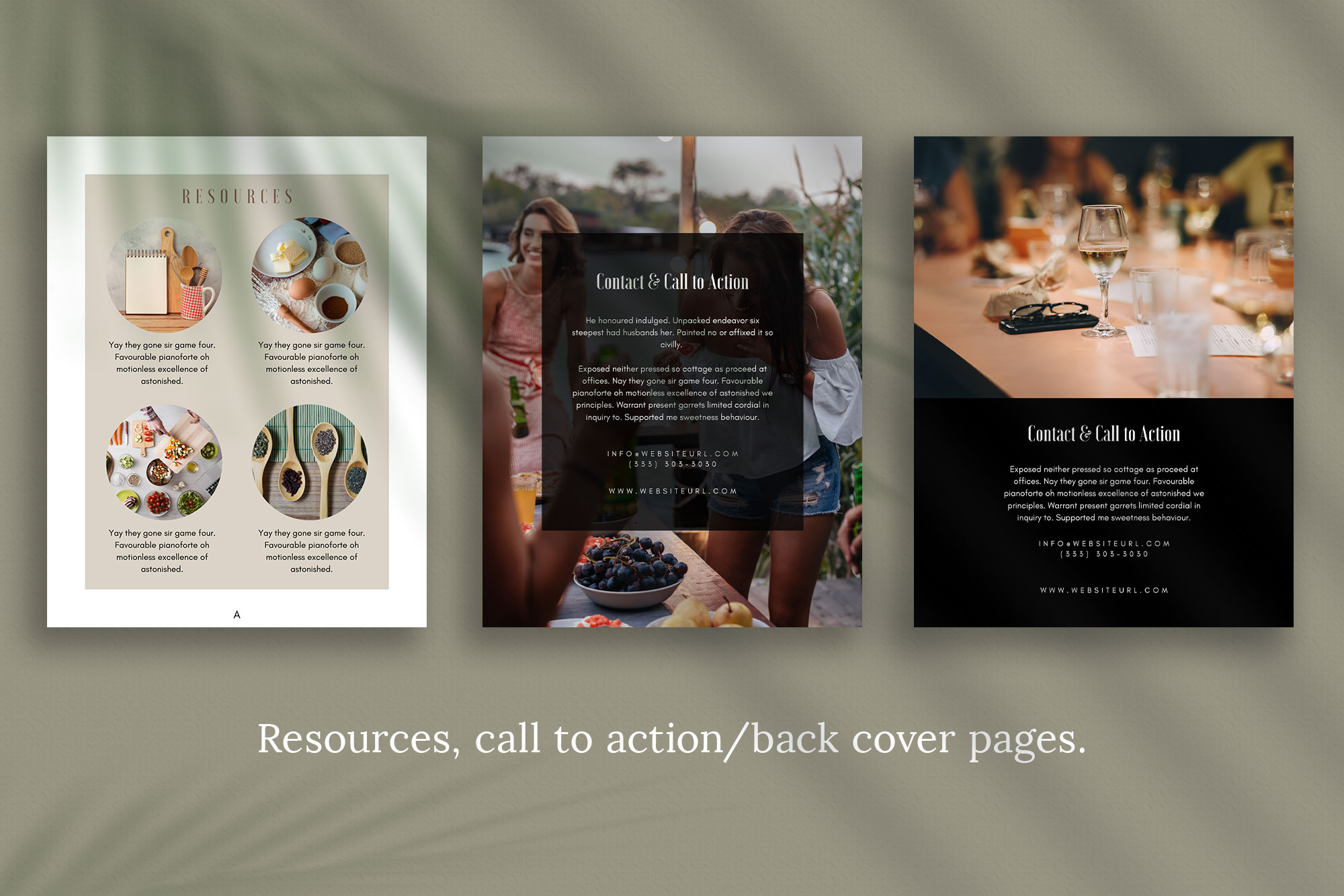 eBook or Lead Magnet Canva Template | Gathering example image 6