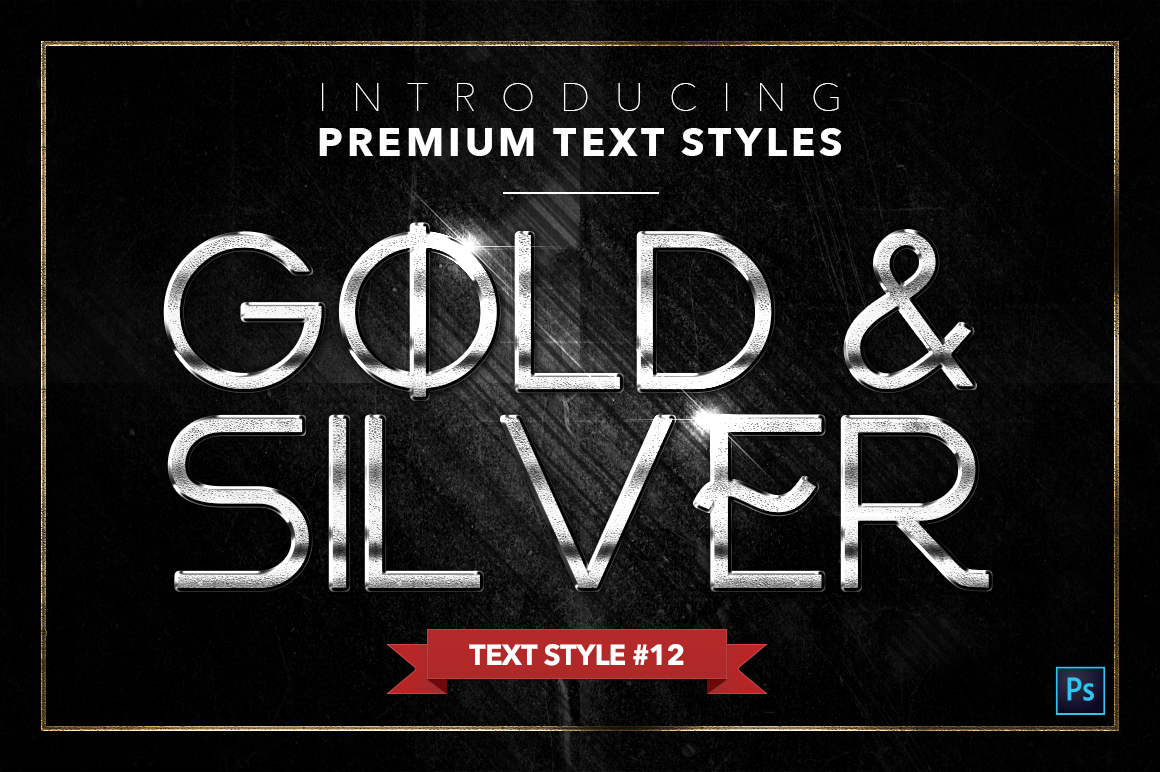 Gold & Silver #4 - 20 Text Styles example image 13