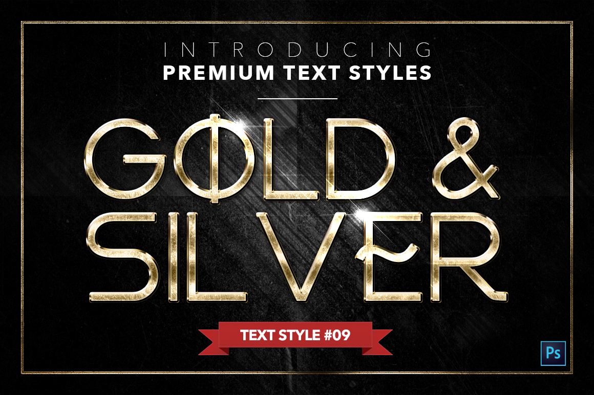 Gold & Silver #4 - 20 Text Styles example image 15