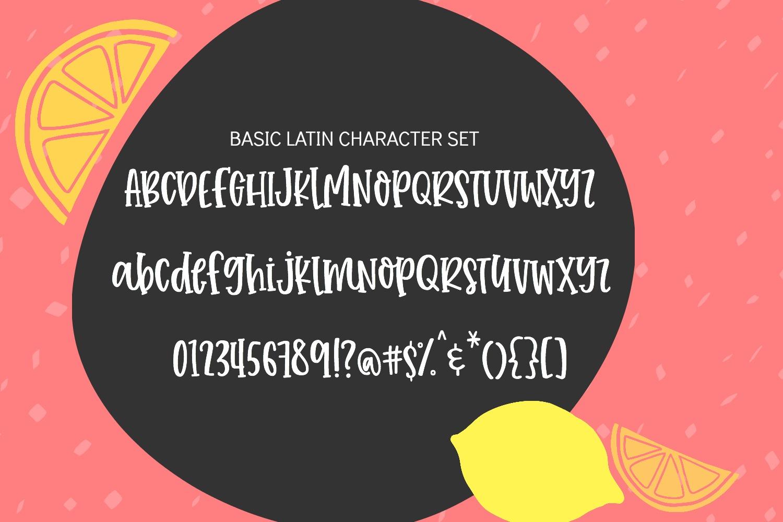 Tuti Fruiti Font Bundle- Handwritten Font 6 Pack example image 3