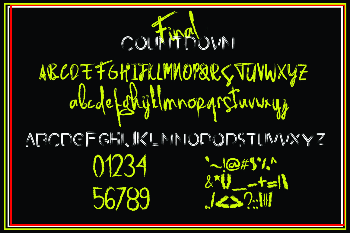 Final Countdown example image 9