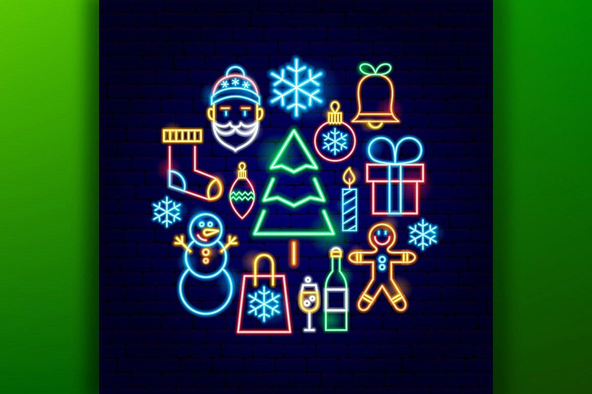 Christmas Neon example image 6