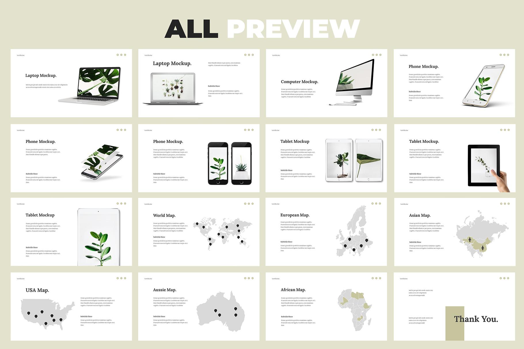 Vertilla-Brand Guideline Keynote example image 7