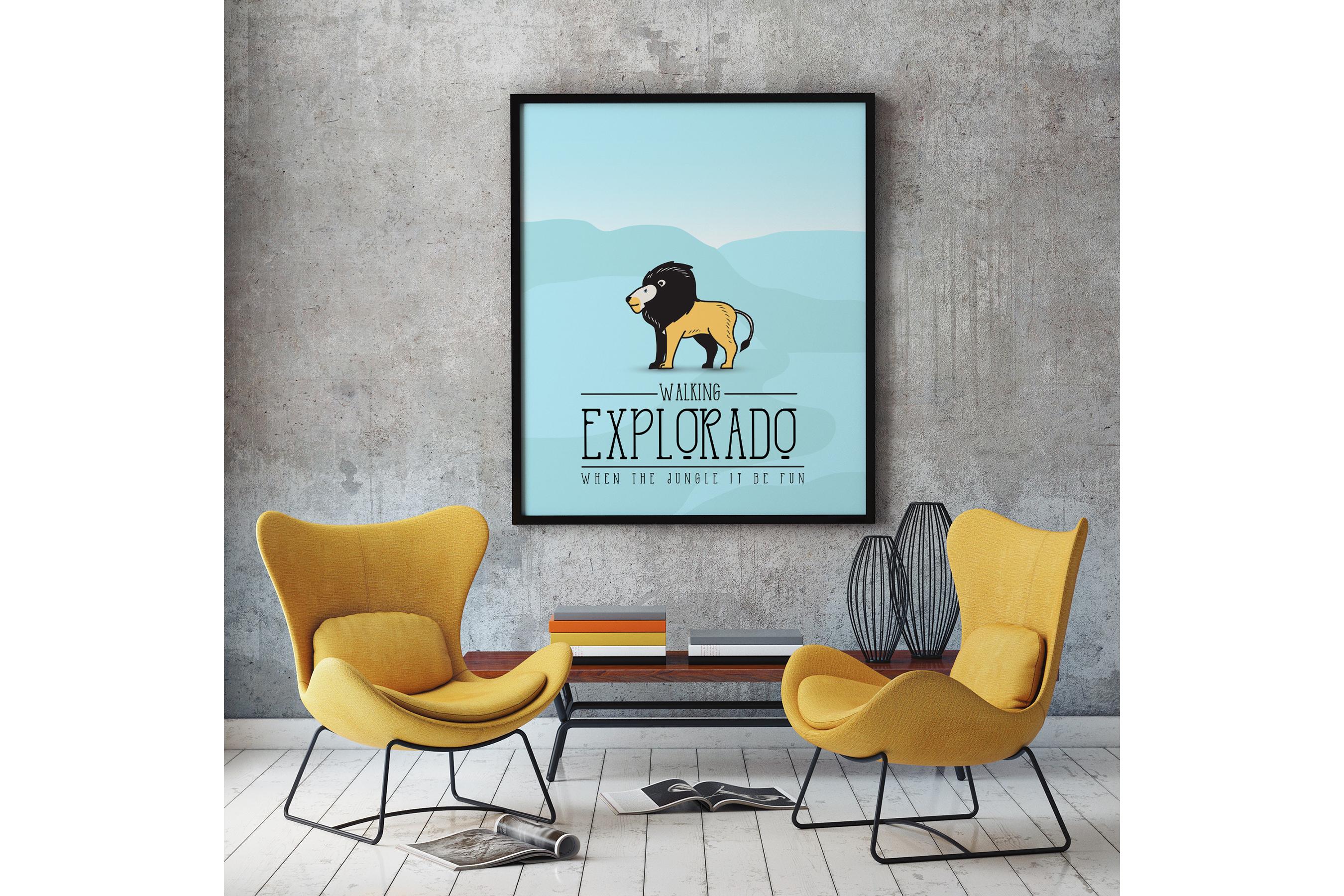 Explorado Typeface  example image 6