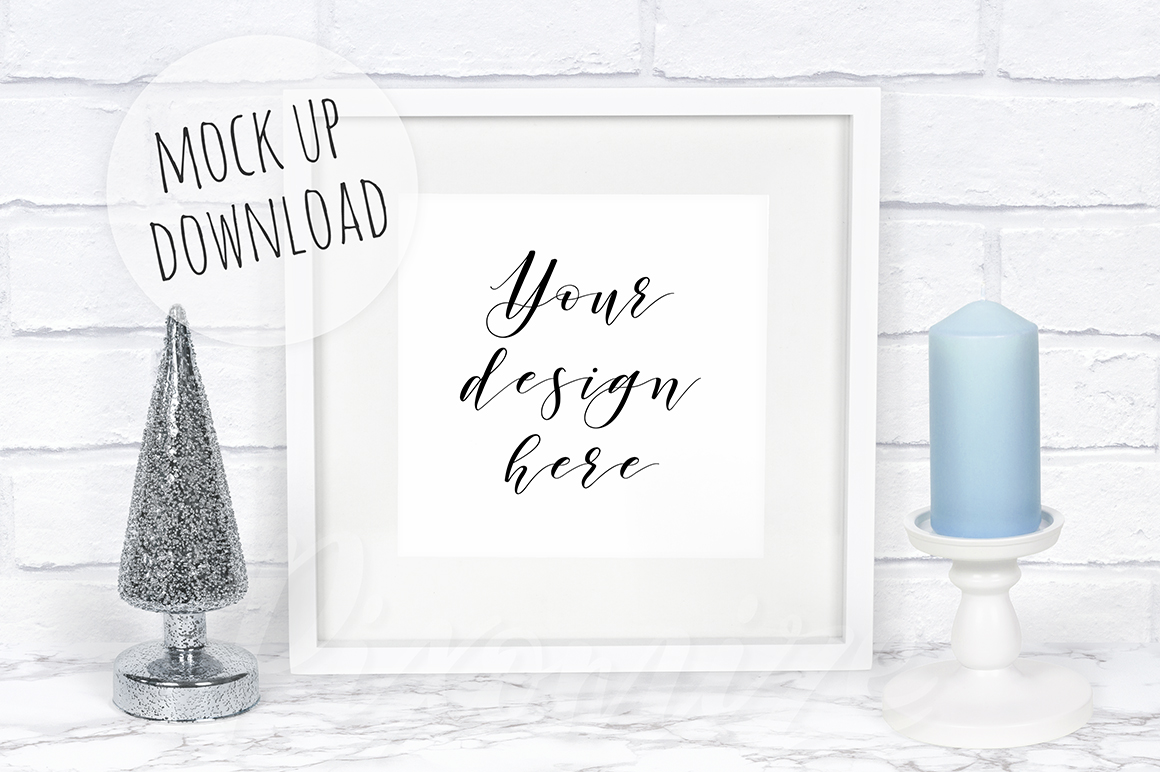Christmas Frame Mockup Bundle example image 9