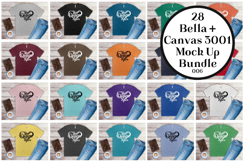 161 Bella Canvas 300 Mockups Mega Bundle Flat Lay T-Shirts example image 4