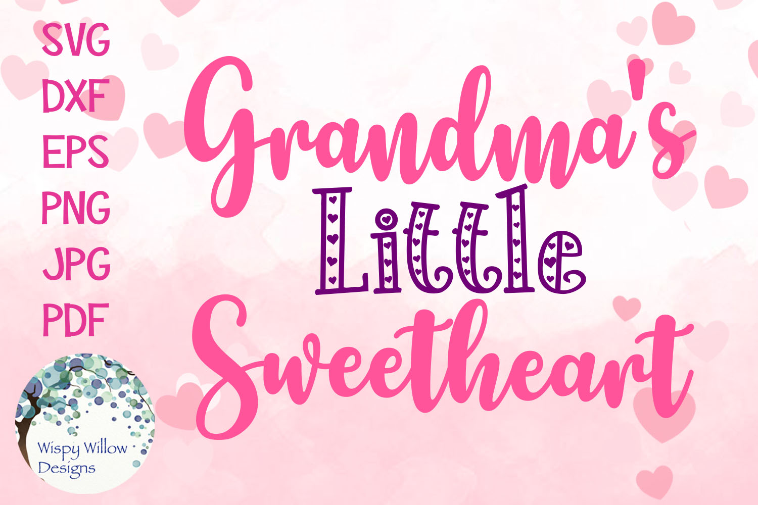 Little Sweetheart SVG Bundle | Valentine's Day SVGs example image 2