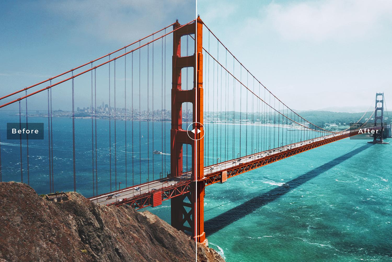 San Francisco Mobile & Desktop Lightroom Presets example image 5