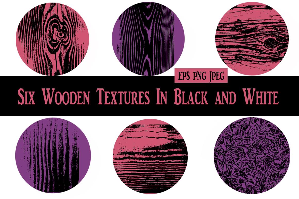 Wooden Textures Set example image 3