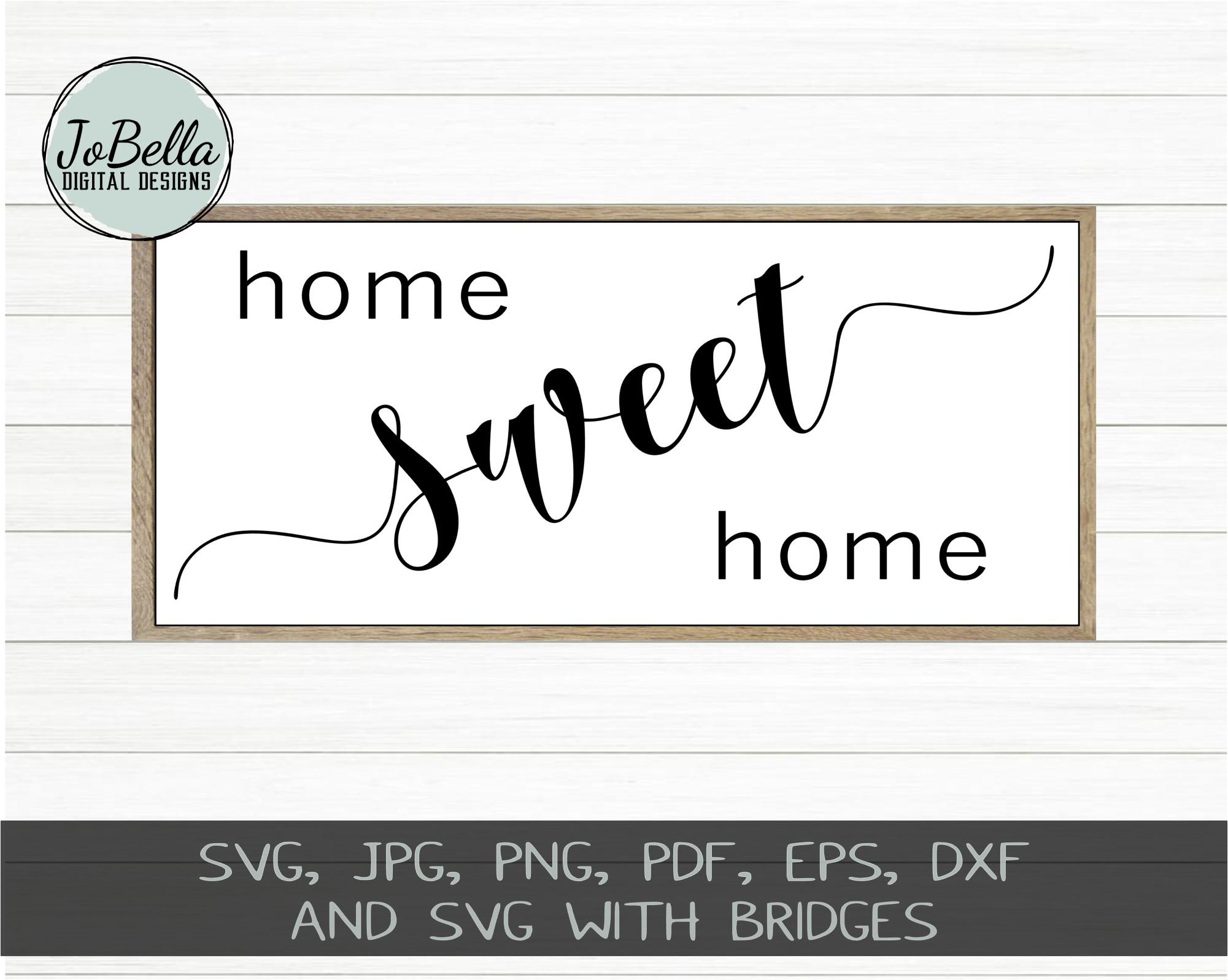 Home Wood Sign SVG Bundle - Farmhouse SVG Bundle example image 6