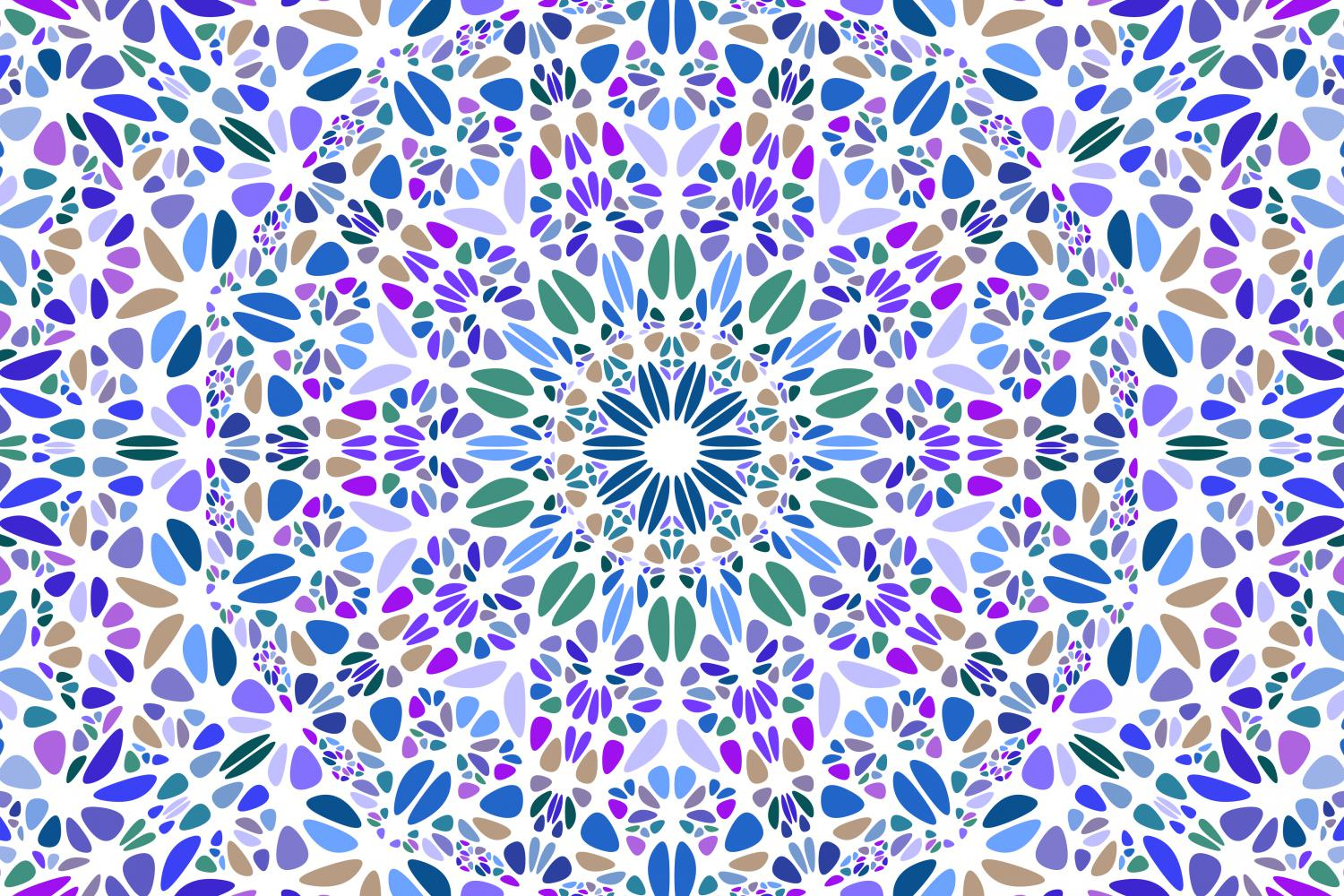 48 Floral Mandala Backgrounds example image 8