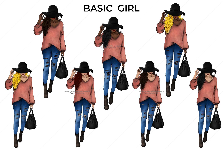 Hello Fall Fashion Girl Collection example image 2