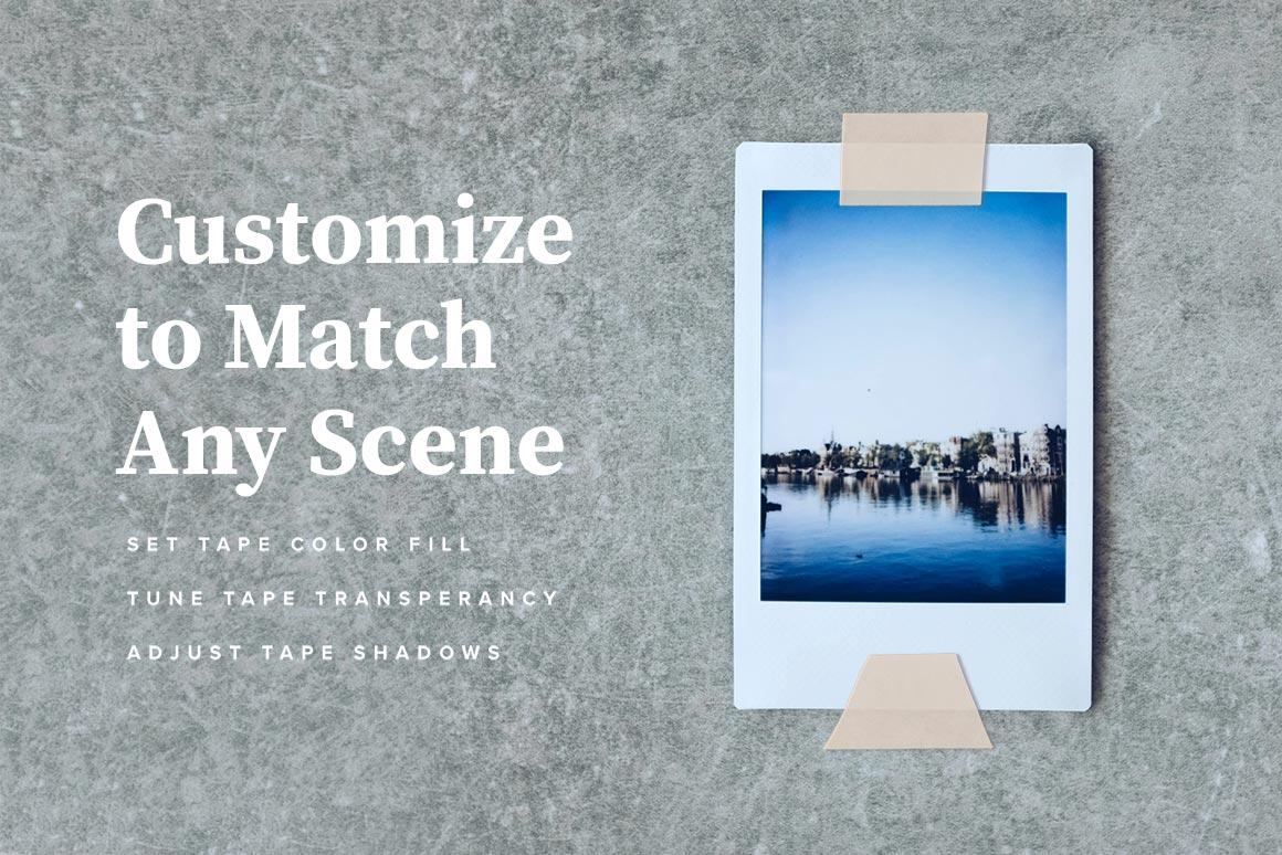 Washi Tape PSD Mockups example image 4