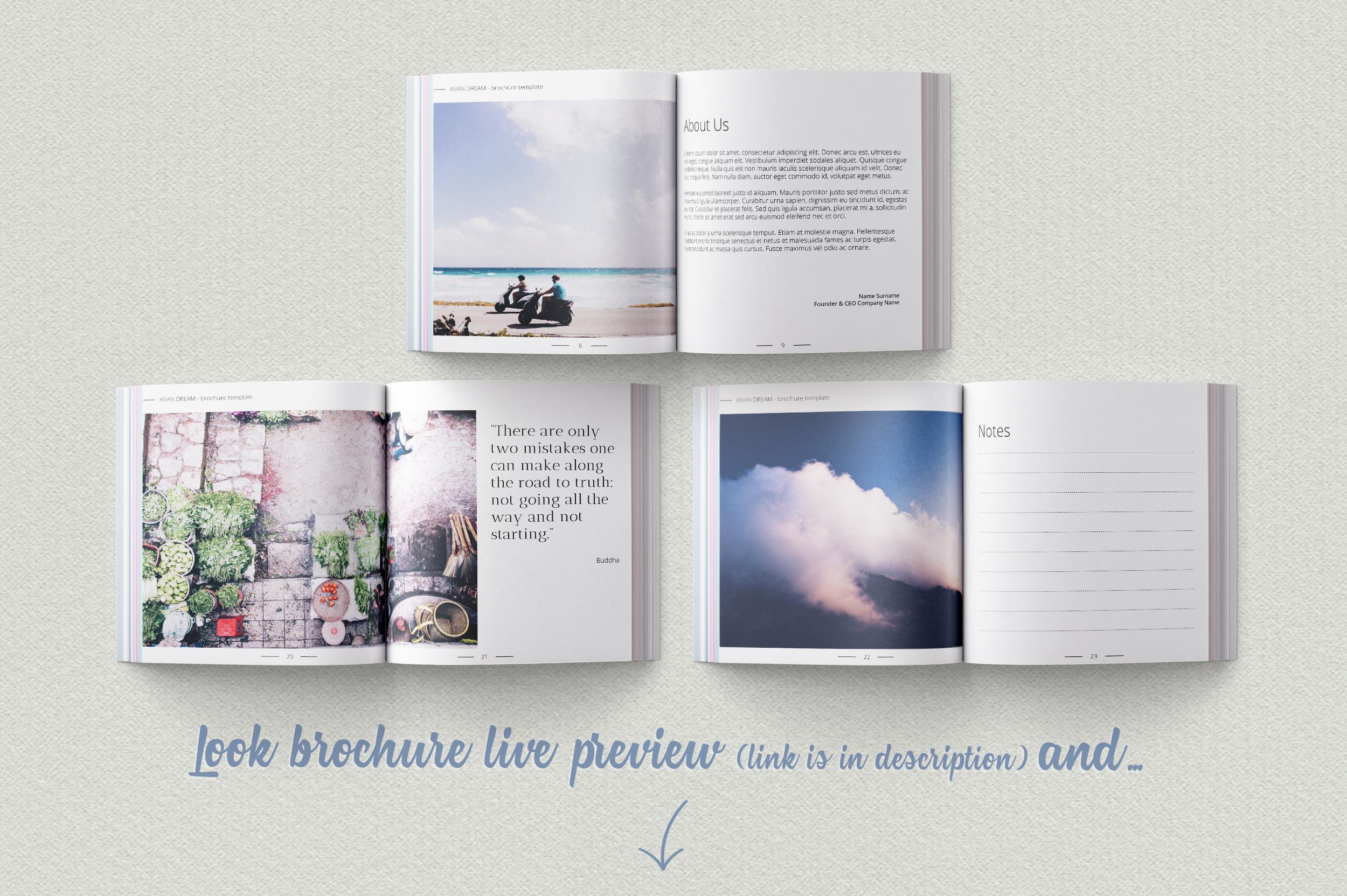 Asian Dream Brochure Template example image 2
