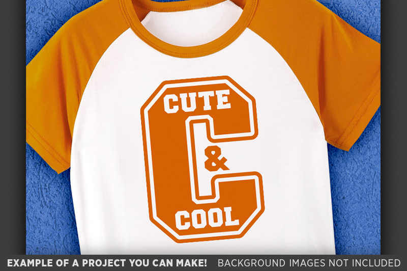 Cute and Cool SVG - Cute Kids T-Shirt SVG - 1083 example image 3