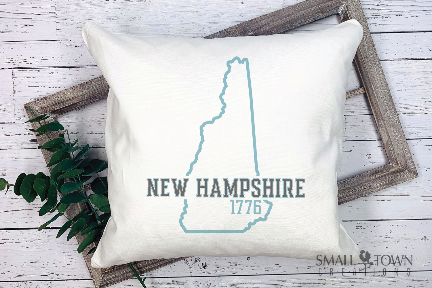 New Hampshire, Scenic - slogan, Logo, PRINT, CUT & DESIGN example image 9