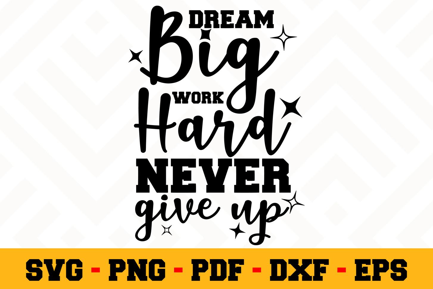 Motivation SVG Design n504   Motivational Quote SVG File example image 1