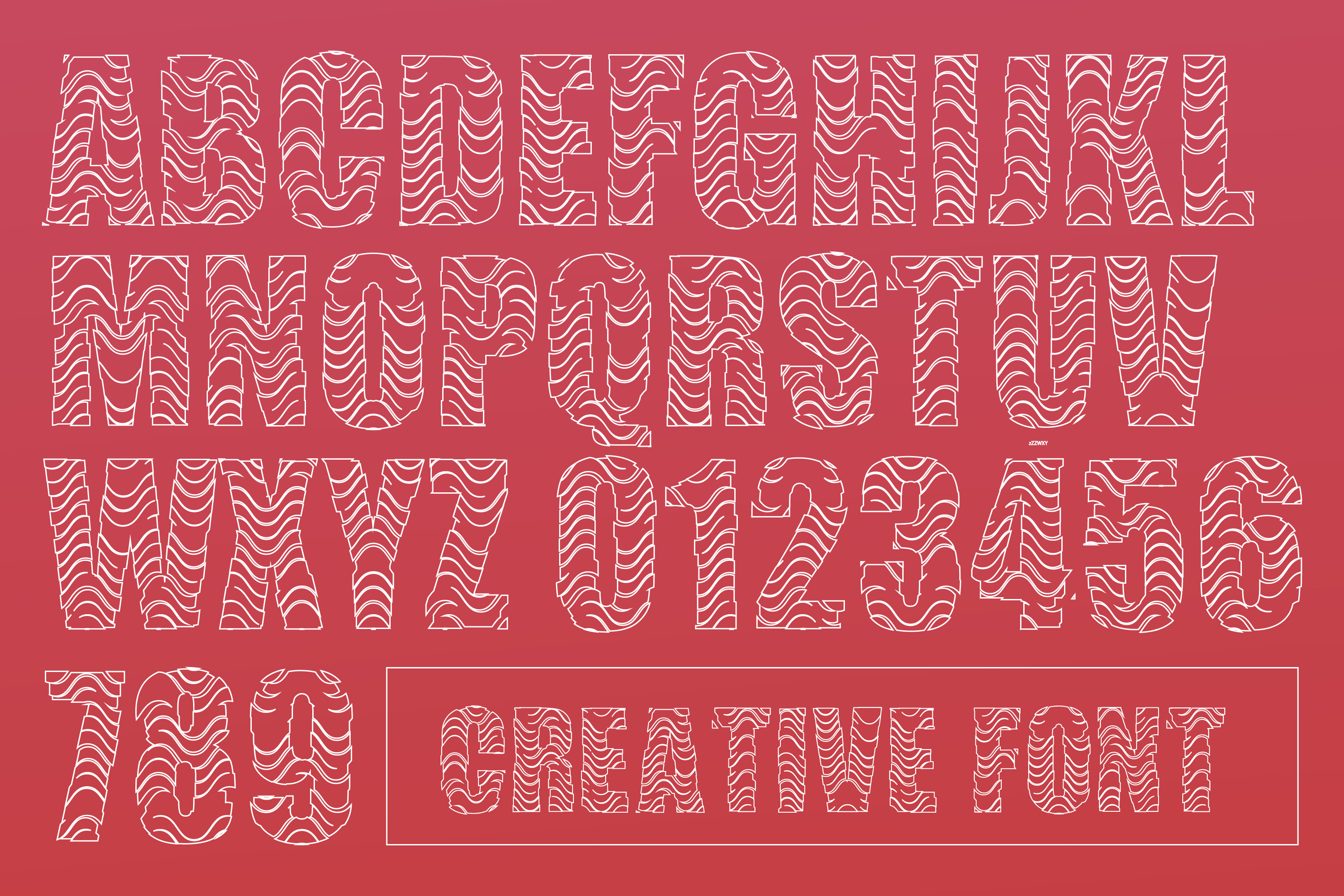 Just Like Stone - Creative Vintage Font for Designs example image 2