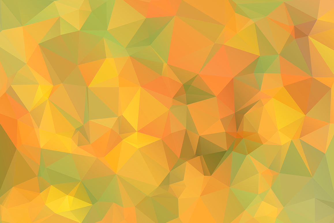 Polygon vector backgrounds set example image 6