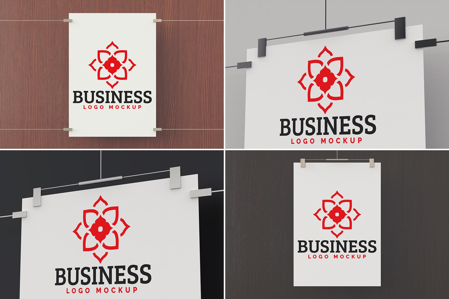 100 Logo Mockups Bundle Vol.5 example image 10