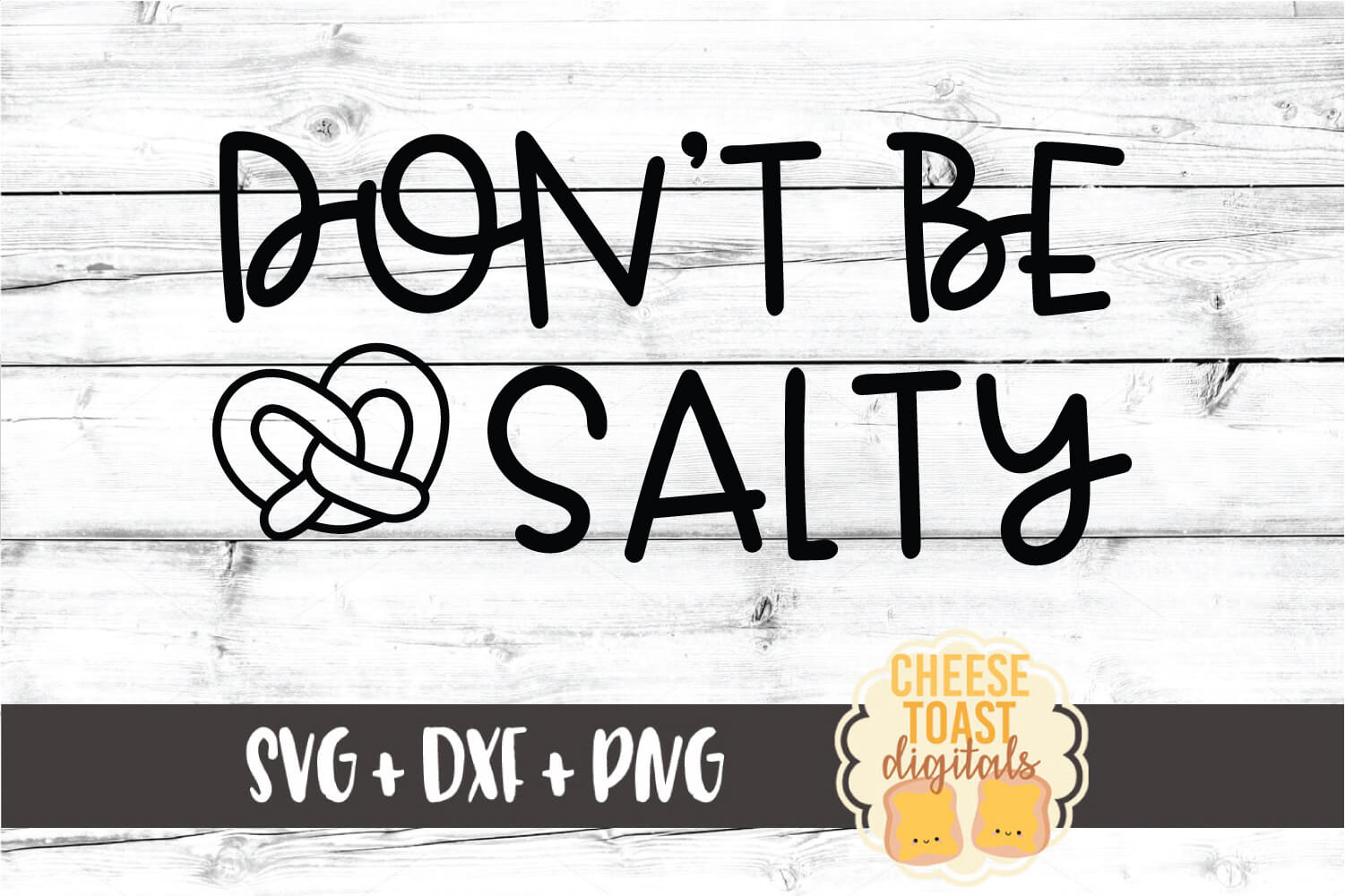 Don't Be Salty - Oktoberfest SVG PNG DXF Cut File example image 2