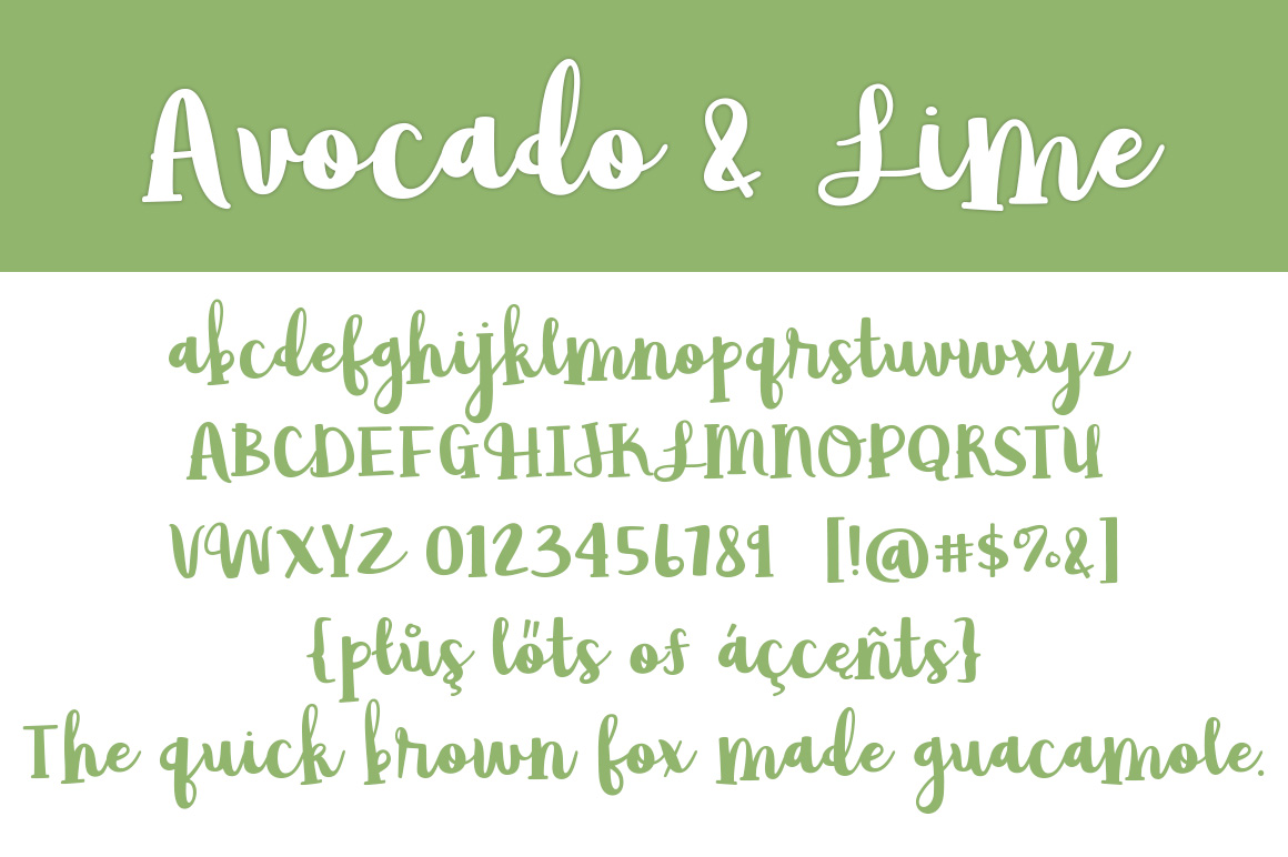 Avocado & Lime example image 4
