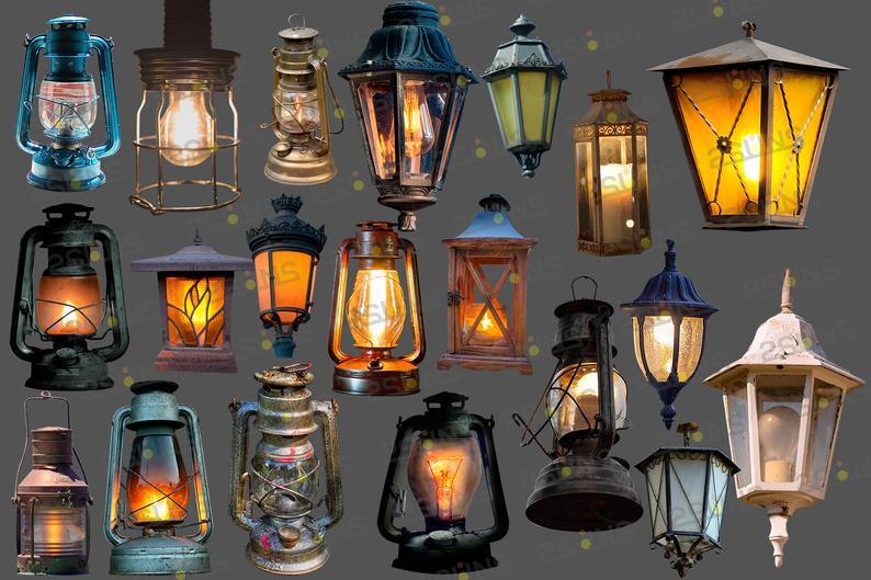 Photo overlays Photoshop lamp light clipart png lantern example image 3