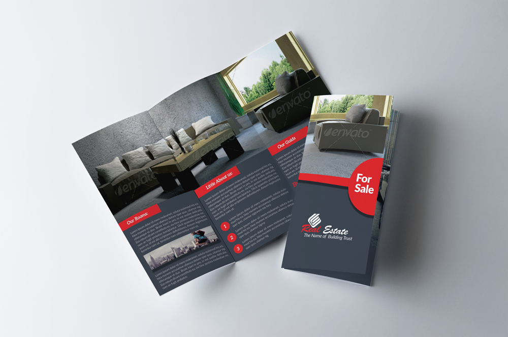 Real Estate Trifold Brochure example image 1