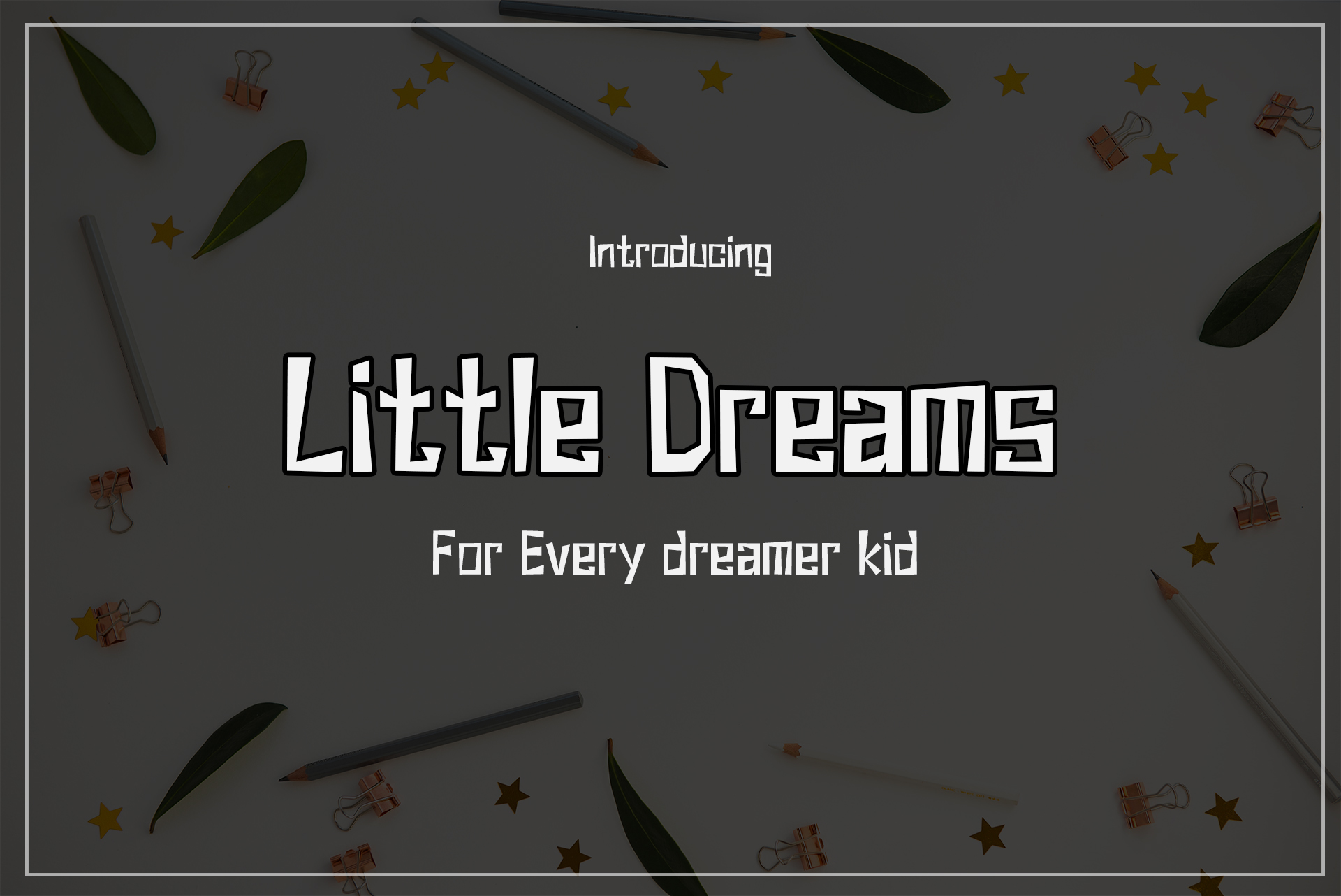 Little Dreams example image 1