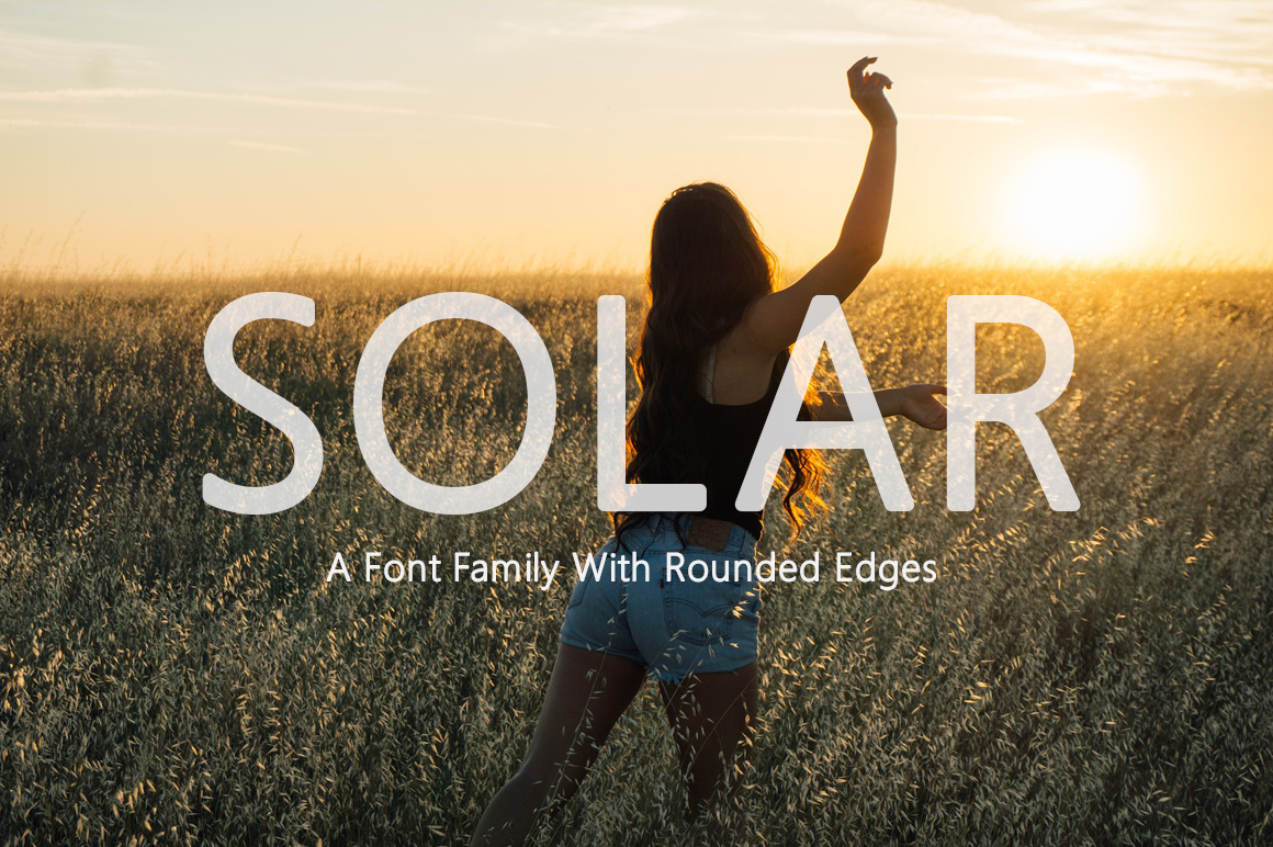 Solar Font example image 1
