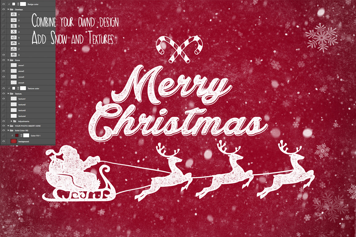 Christmas Photo Overlays example image 5