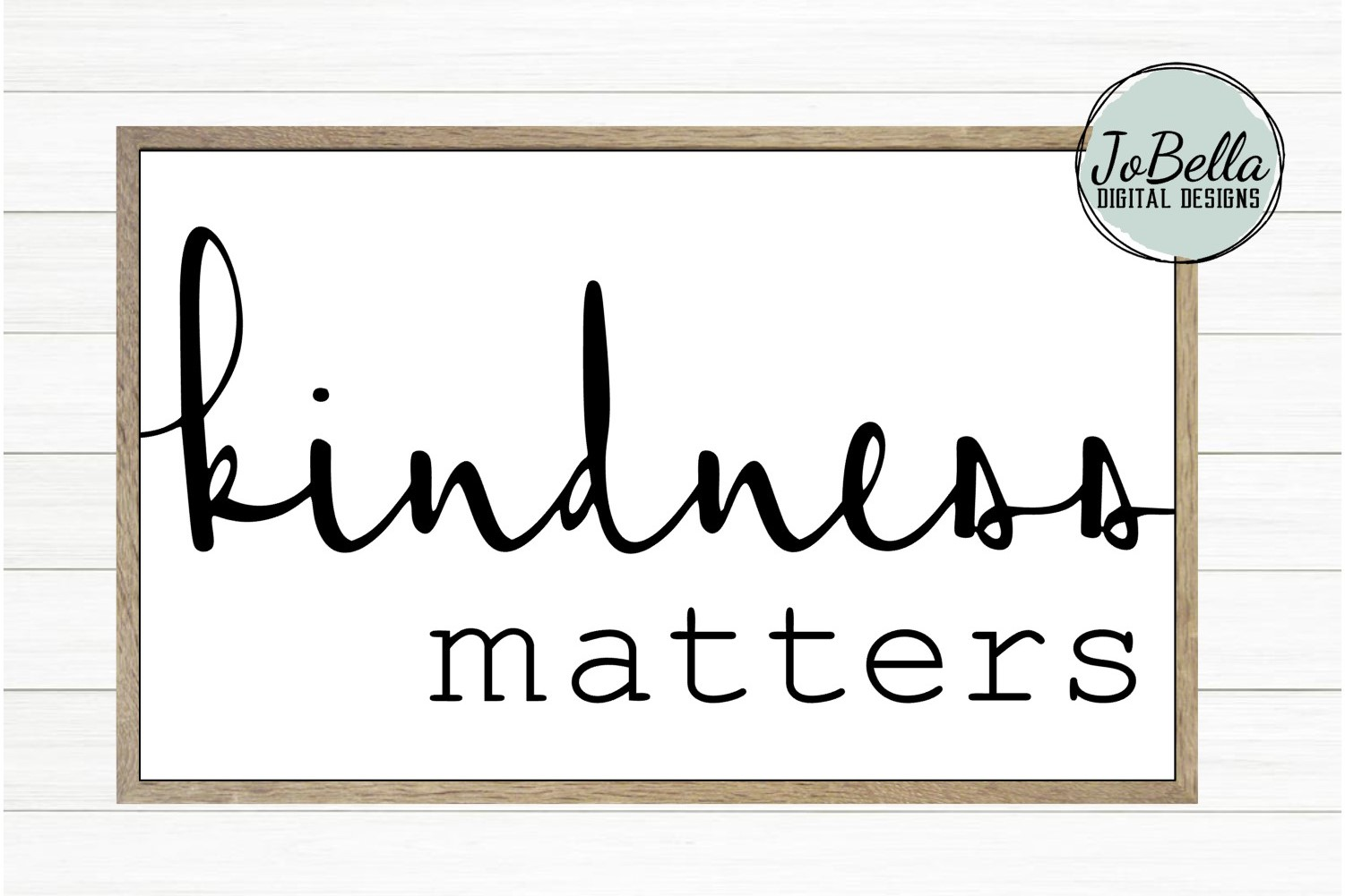 Kindness Matters SVG and Printable example image 2
