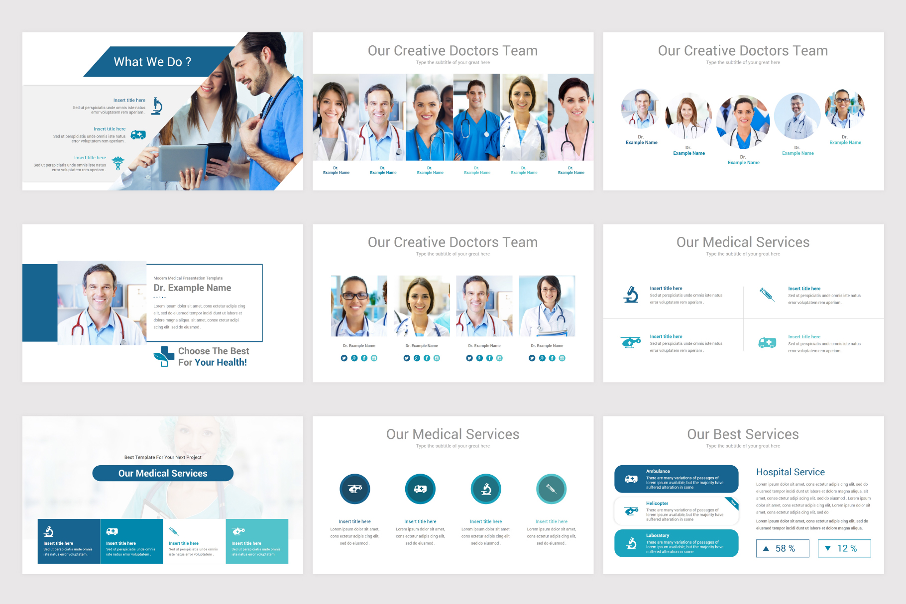 Medical & Health Keynote Template example image 6