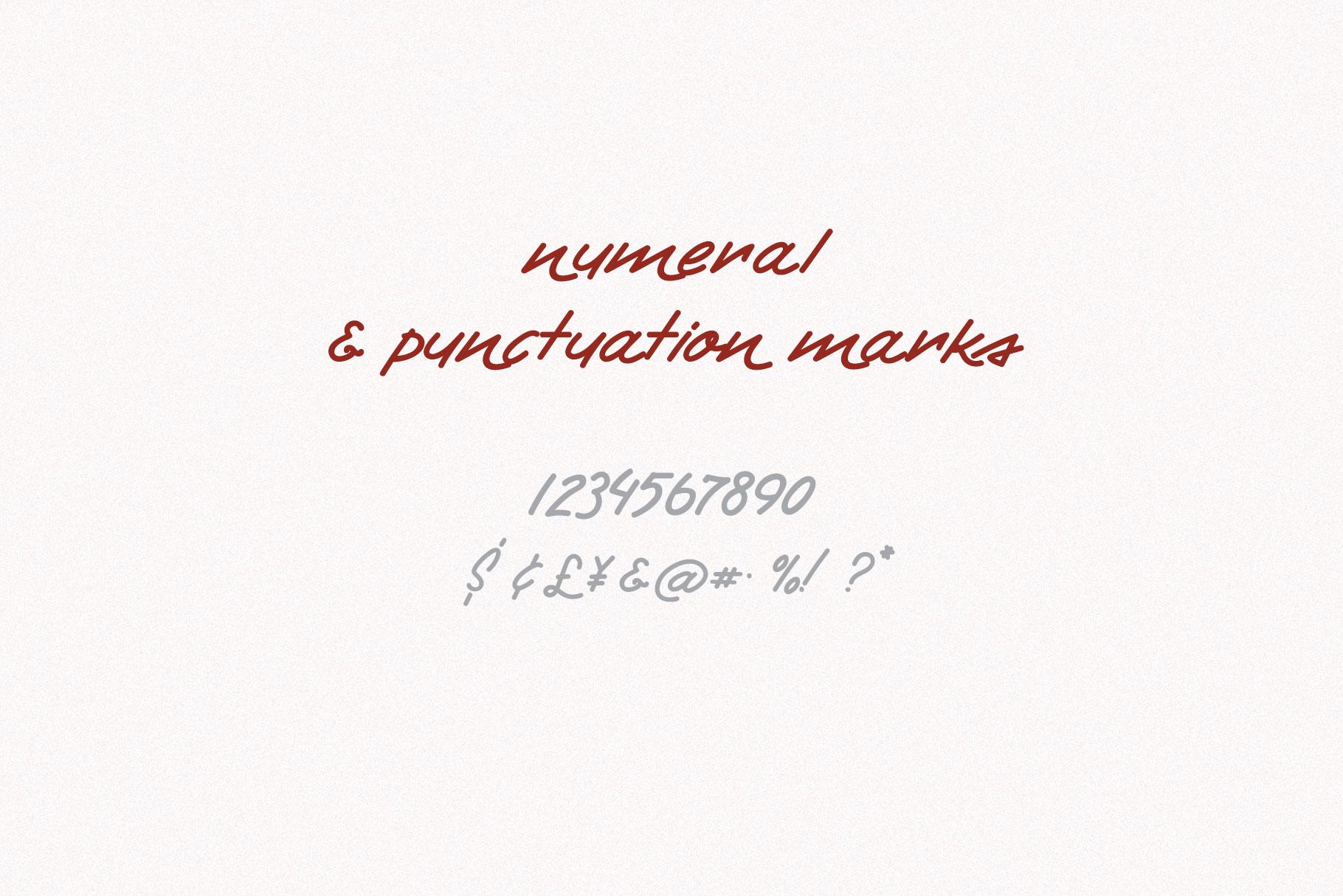 Retro Handwritten Font Fontryl example image 4