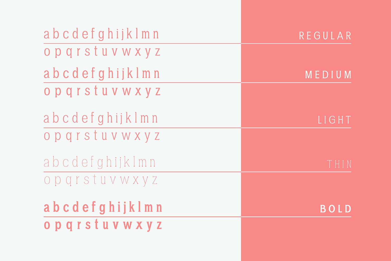 Chelina Slab Serif Font Family example image 6