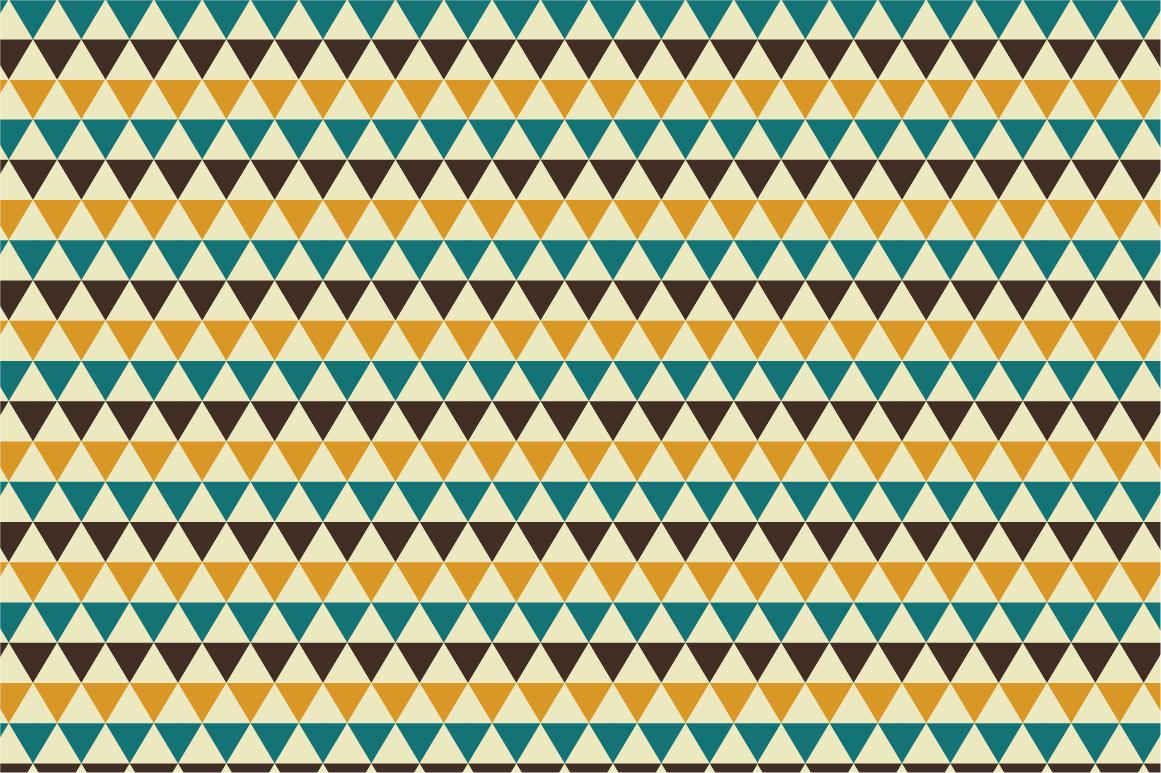 Set of Retro Seamless Patterns example image 3