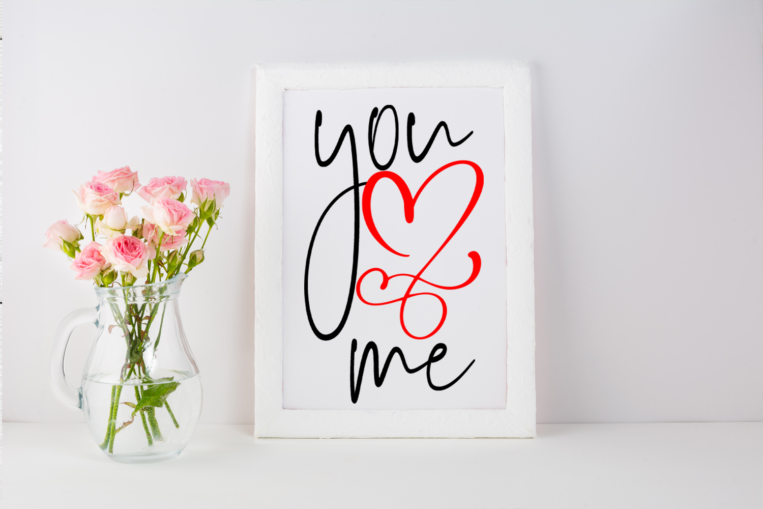 Cute Valentines Overlays-Valentines Day Overlay Collection example image 4