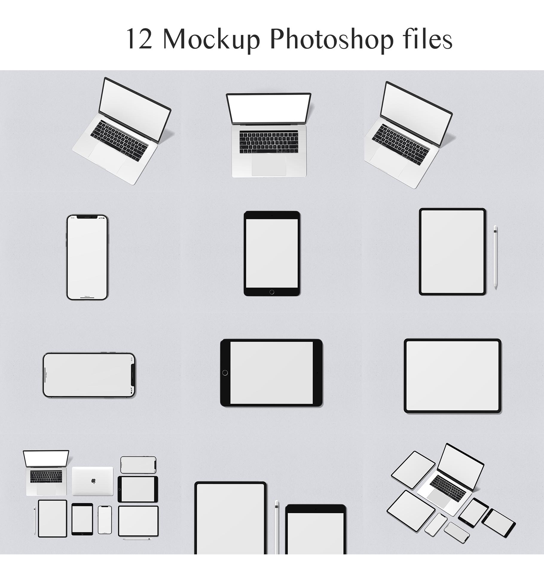 Minimal Devices Mock-Ups example image 16