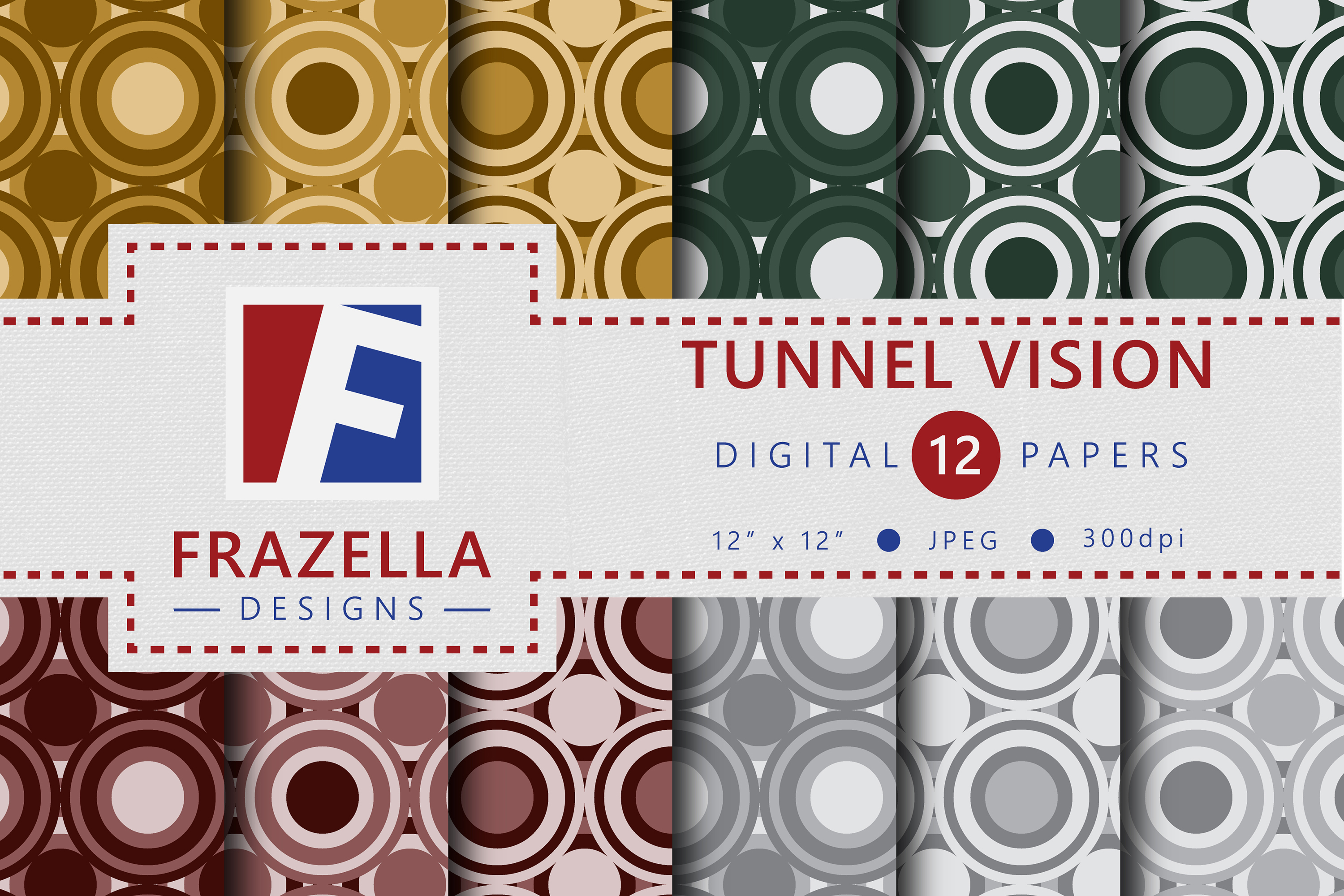 The ULTIMATE Digital Paper Collection Retro Edition Vol. 3. example image 11