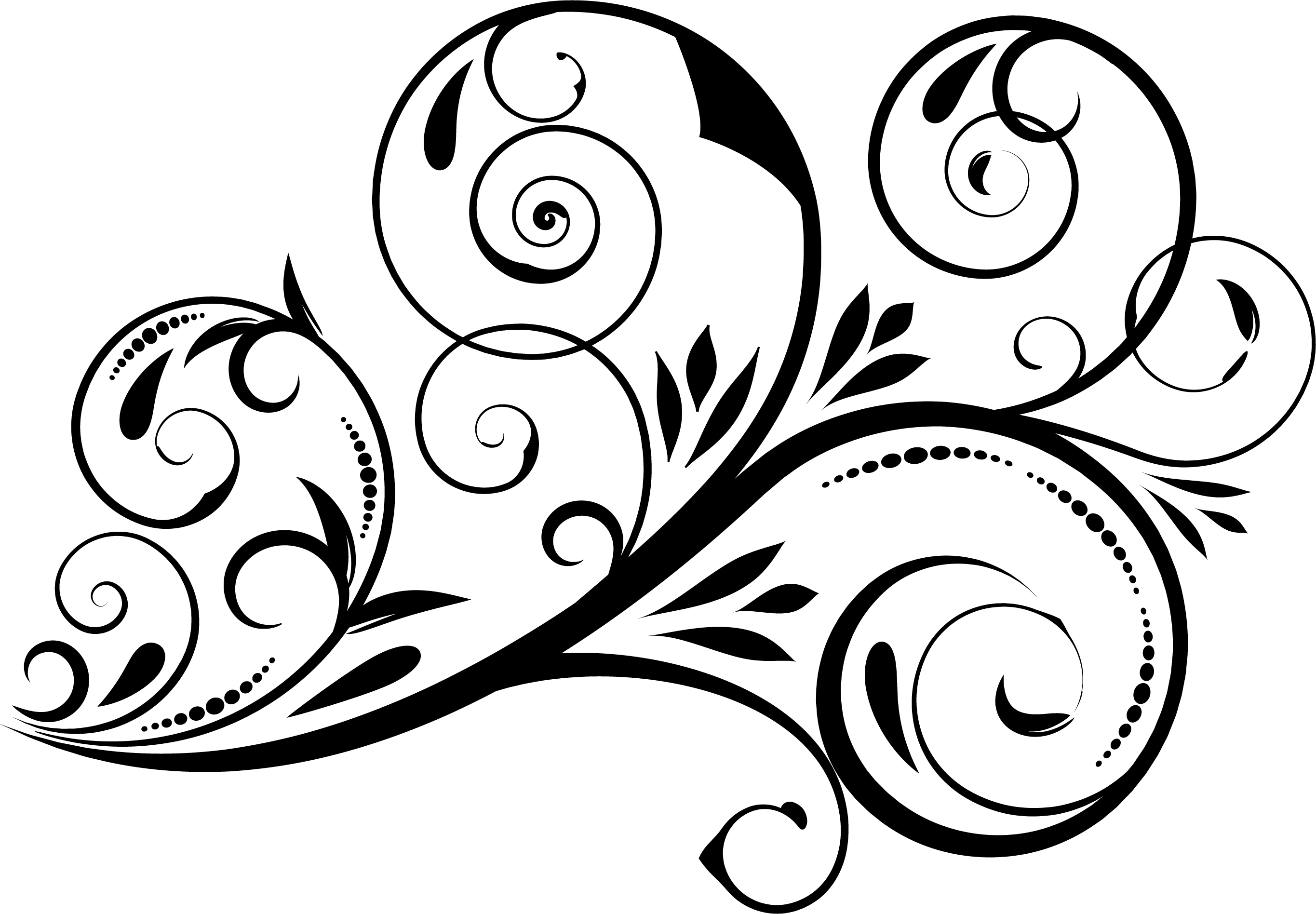 5 Swirl Vectors Svg Dxf Png Jpg Eps vector file Cut Files example image 5