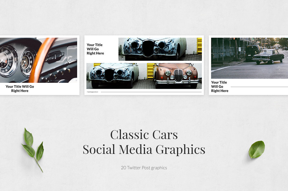 Classic Cars Twitter Posts example image 2