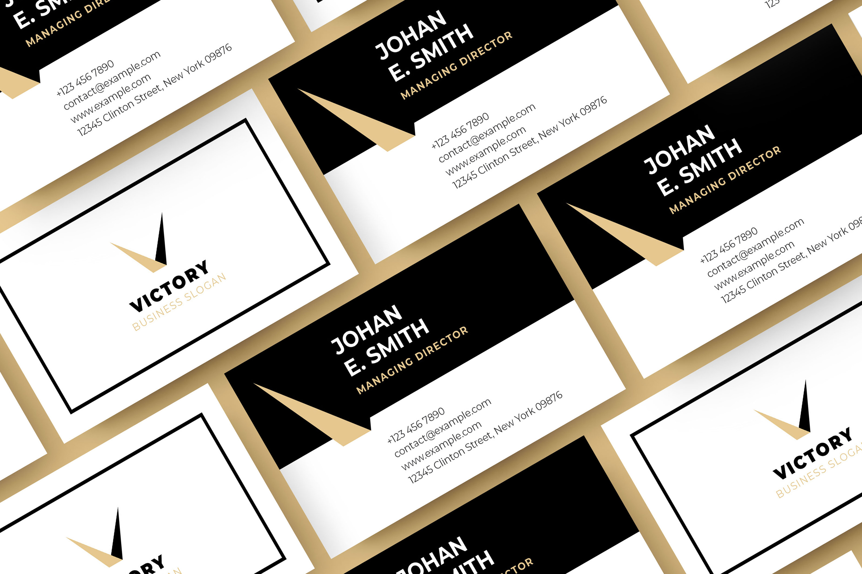 Modern Business Card Template example image 5